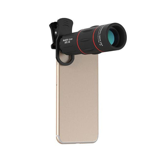 18X Zoom Telescope Mobile Phone Lens