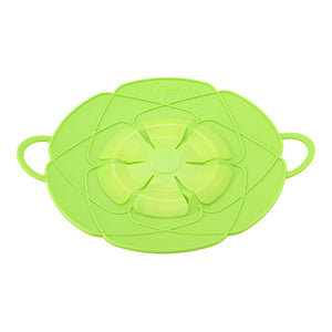 Silicone Lid Spill Stopper Pot Cover