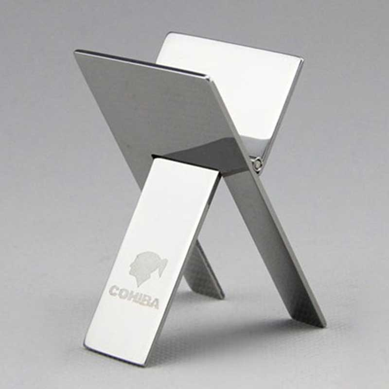 Cohiba Stainless steel Cigar Ashtray Holder - Gadget and gear guru