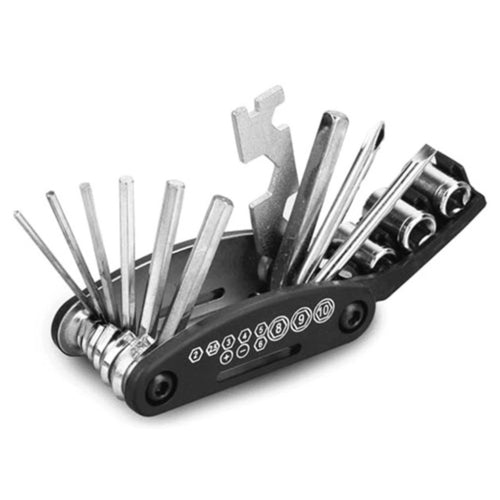 Bicycle Repair Tool Folding Hex Spoke Wrench