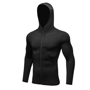 Sport Hoodies Zipper Breathable