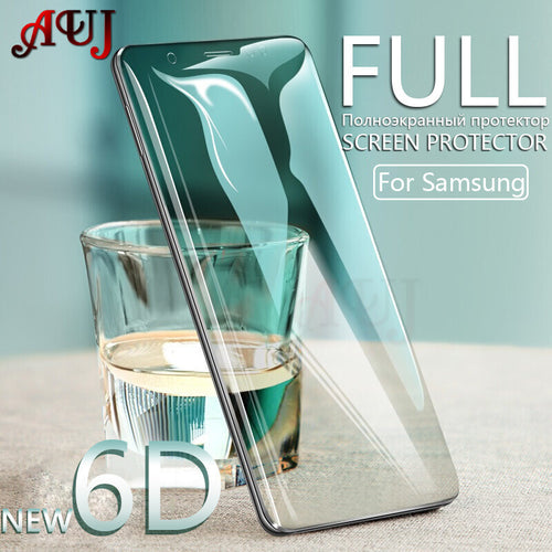 6D Screen Protector for Samsung 8, Note, S9 Plus