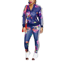 Two Piece Women's Tracksuits