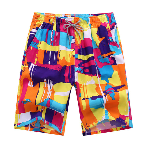 Men Swimming Trunks Beach Shorts Quick Drying - Gadget and gear guru