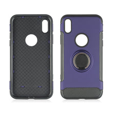 Shockproof Hard Phone Case With 360 Rotate Ring Holder On  Back for IPhone X 8 7 6S 6 Plus