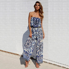 Women Strap Backless Long Jumpsuits