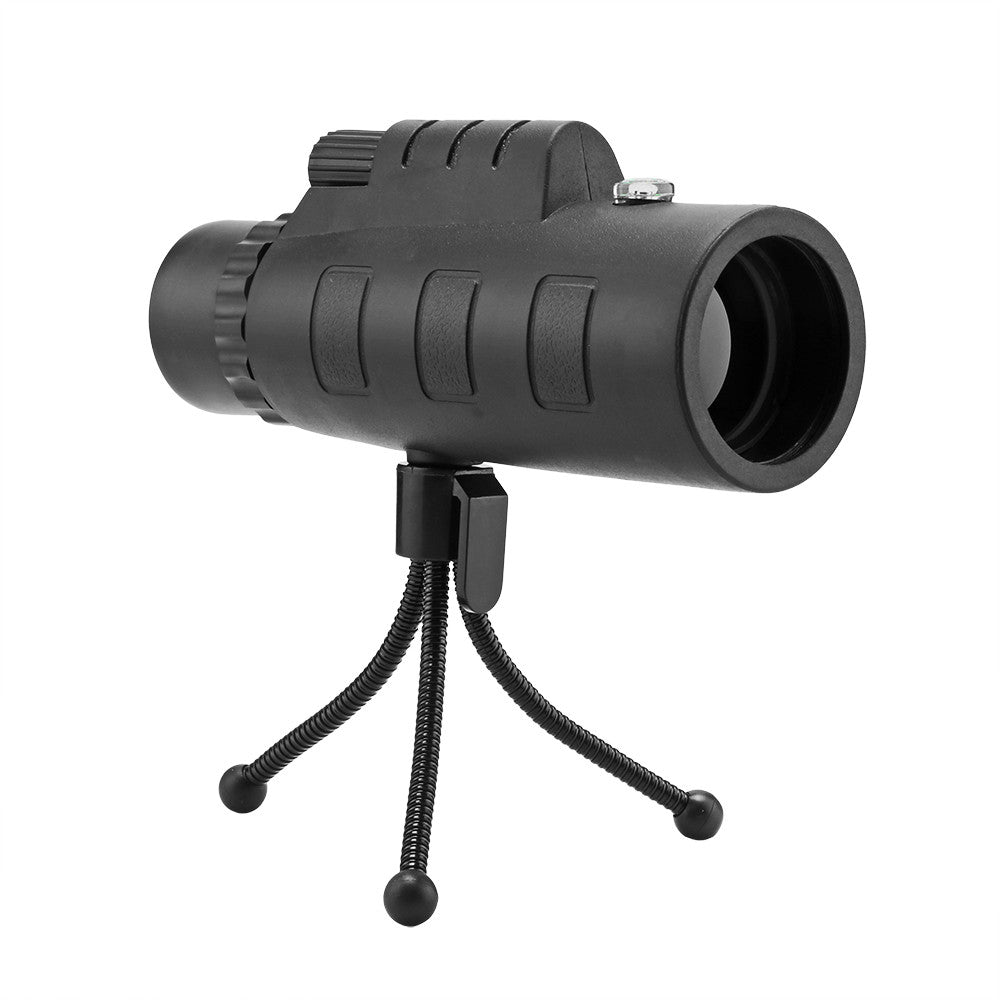 Universal Telescope Phone Lens 40x60 Model 10X HD  zooming Optical Monocular with Clip and Adjustable tripod for Mobile Phone