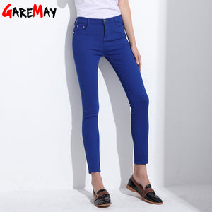 Womens stretch pencil pants