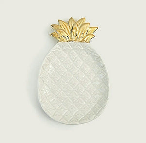 pineapple jewelry plate