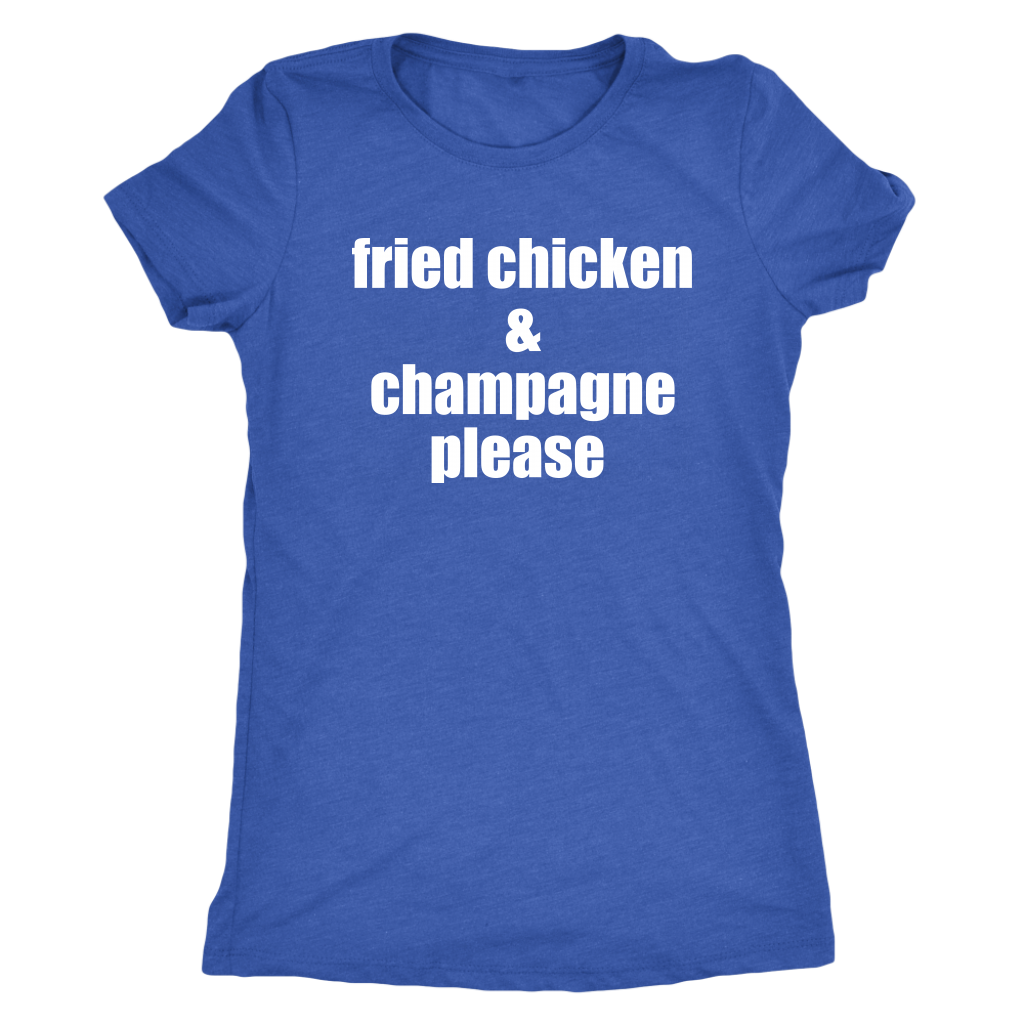 fried chicken & champagne t