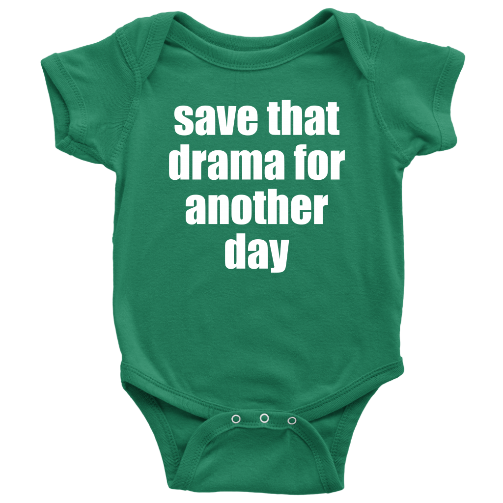 save that drama onesie
