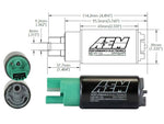 AEM 50-1220 pompa benzina ad immersione 340 lt/h E85 compatibile (65mm)