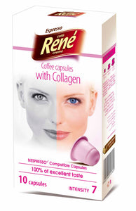 Cafe Rene with Collagen  קפסולת קפה עם קולוגן