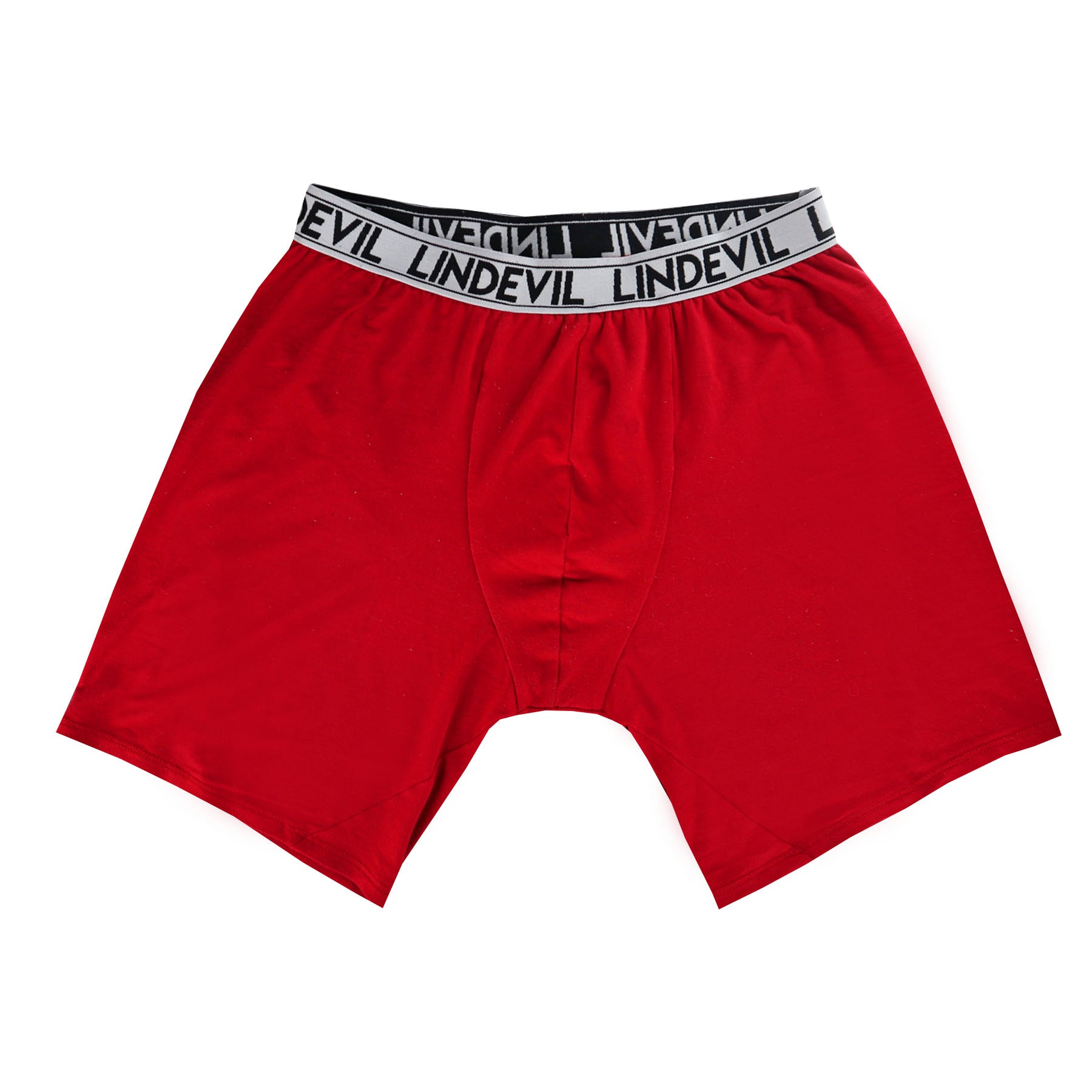 Red Long Boxer Brief