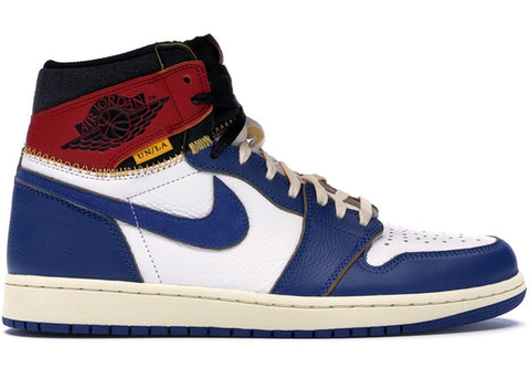 Air Jordan 1 Retro High - Union Los Angeles Blue Toe