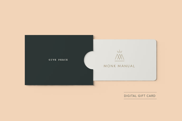 Monk Manual Gift Card