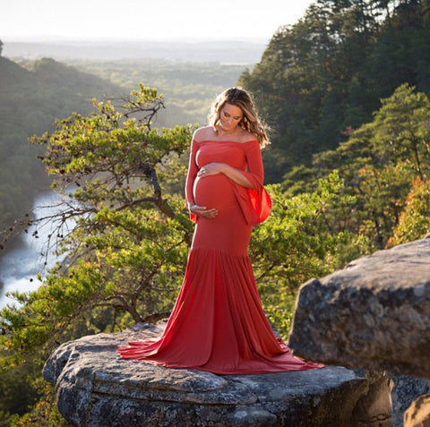 Maternity Dress for Photoshoot