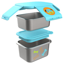 Zoo Stainless Steel Lunch Kit - Multi Pieces
