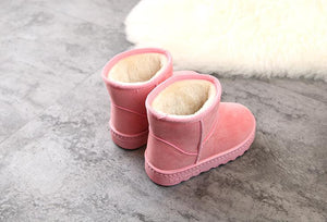 Baby Pink Ankle Length Boots
