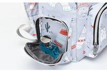 Mommy Tribe Diaper Bag Pack - Grey - Side