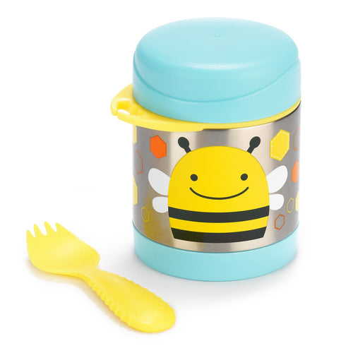Zoo Insulated Little Kid Food Jar - Front view