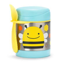 Zoo Insulated Little Kid Food Jar -  Spoon attached