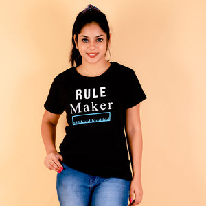 I Love Stripes Kids Sweater- Tomato Red