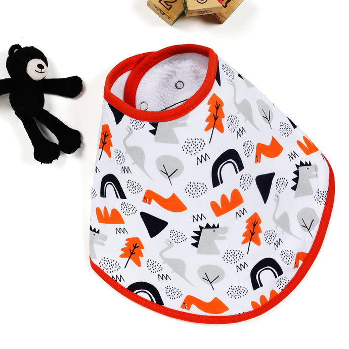 Adventurous Dino Feeding Bib