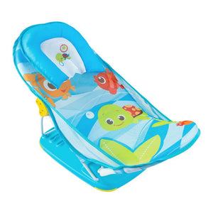 Deluxe Baby Bather - Blue - Blue, 0M+ Right diagonal view