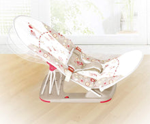 Fold up infant seat (Brown) Sideview