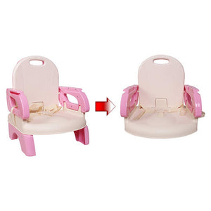 Folding Booster Seat - Seat adjustment