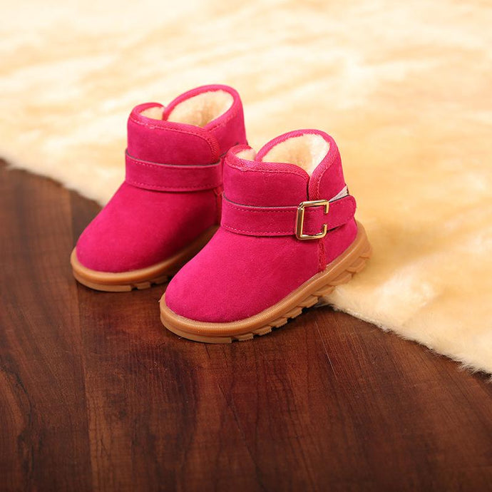 Hot Pink Ankle Length Boots