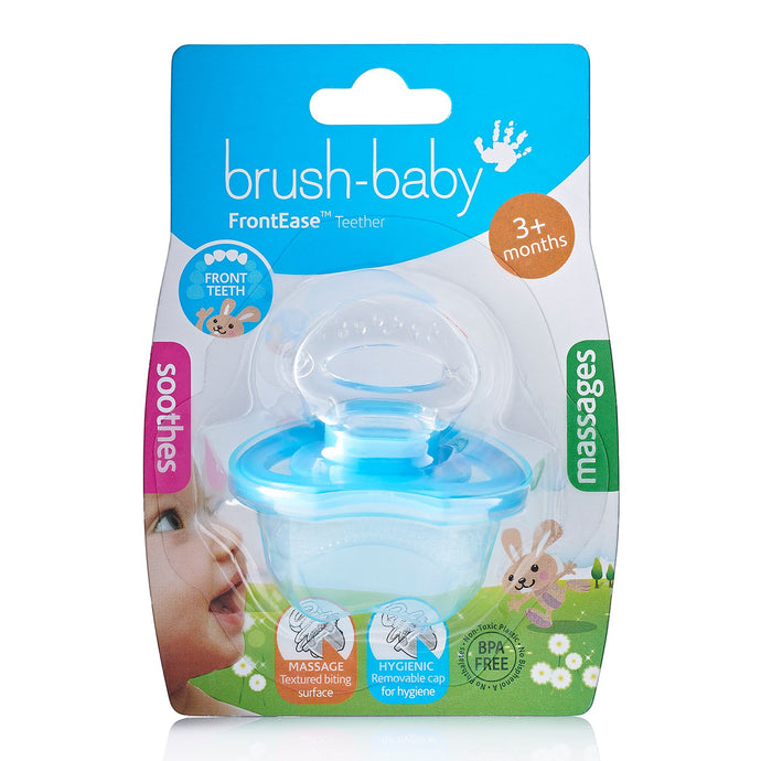 Brush Baby - Front Ease Teether - Blue