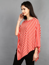 Maternity and Nursing Wear- Citrus Stripes - Side