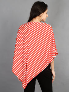 Maternity and Nursing Wear- Citrus Stripes - Back