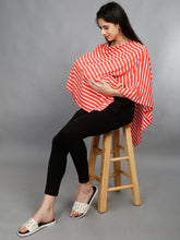 Maternity and Nursing Wear- Citrus Stripes