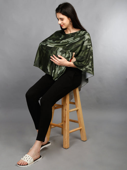 Nursing Cover- Camouflage
