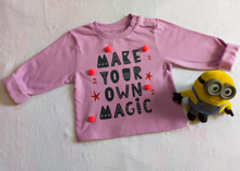 Fleeced Lined Winter Sweatshirt Combo- Make Your Own Magic - Party Like An Elephant