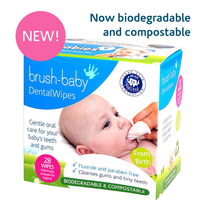 Brush Baby - Teething Wipes with Chamomile