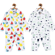 Pajama Set Combo of 2:Fruity Cutie-Up in the Air