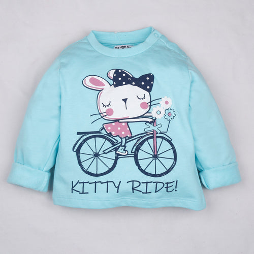 Fleeced Lined Winter Sweatshirt- Magical Unicorn
