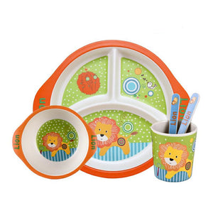 Lolo the Lion Dinnerware Set for Kids