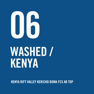 Kenya Rift Valley Kericho Boma FCS AB TOP Washed 200g