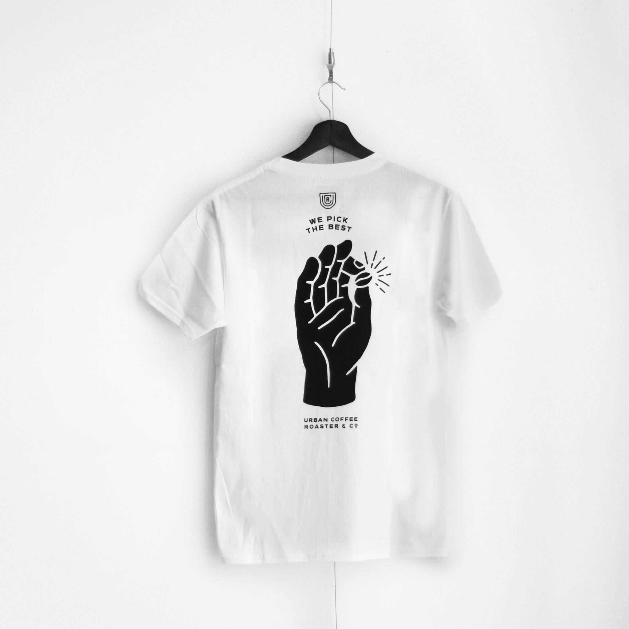 UCR We Pick The Best T-SHIRT (White) - Urban Coffee Roaster