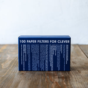 100 Paper Filters for Clever Dripper