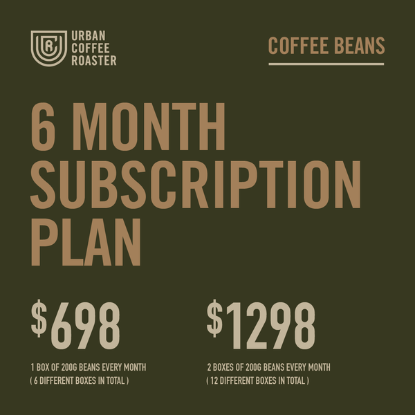 6-month Coffee Subscription
