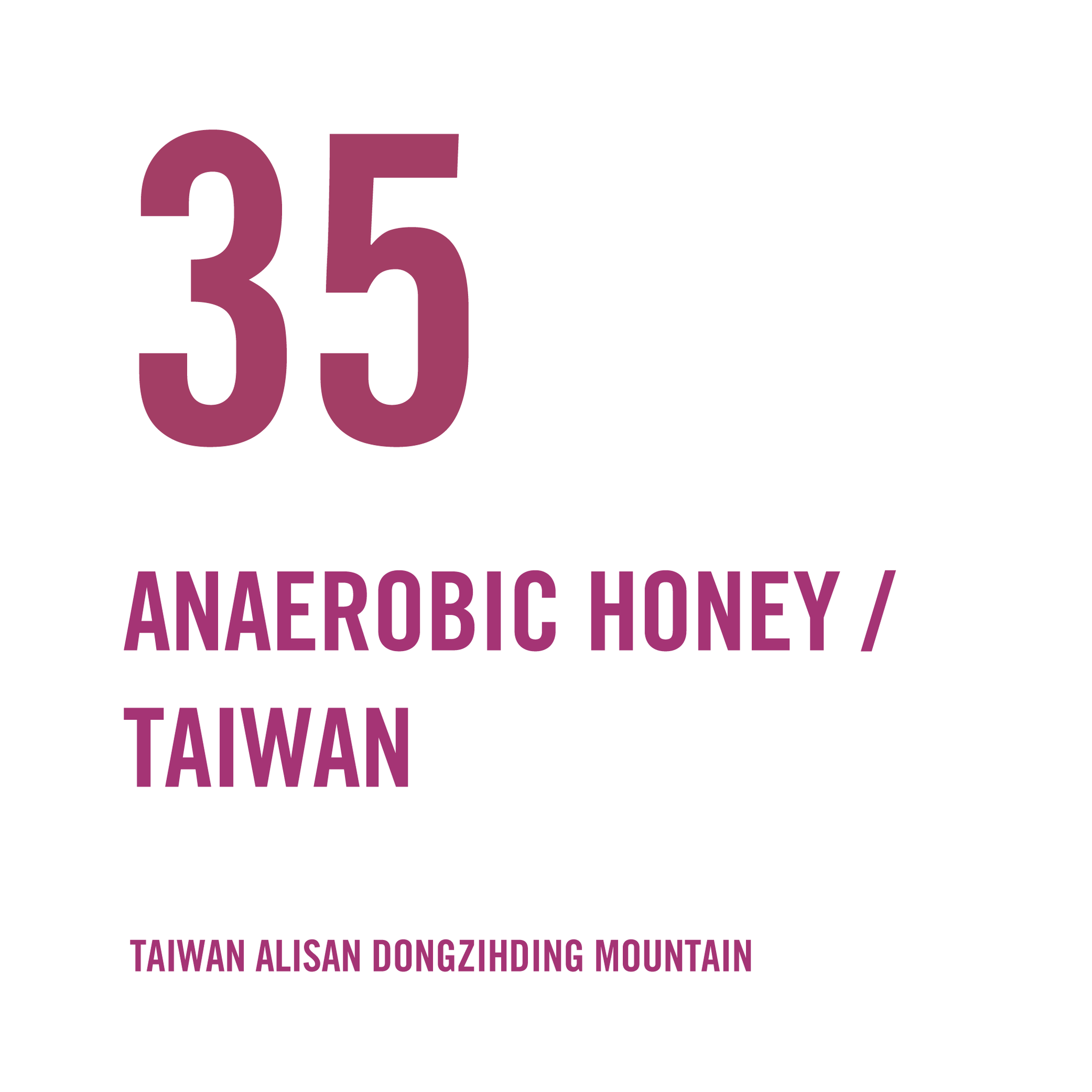 Taiwan Alisan Dongzihding Mountain Honey Anaerobic At Low Temperature 100g