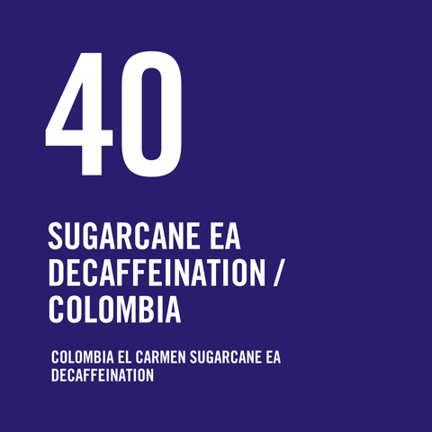 Colombia El Carmen Sugarcane EA Decaffeination 200g