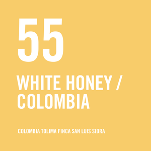 Colombia Tolima Finca San Luis Sidra White Honey 200g