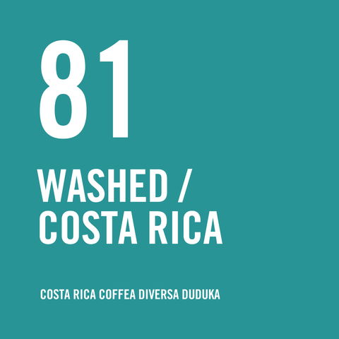 Costa Rica Coffea Diversa Duduka Washed 200g